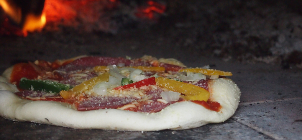 Pizza 10 sec in de oven